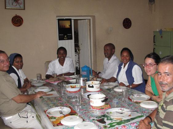 Comedor de la mision