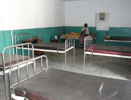 una de las estancias de la clinica alitena
